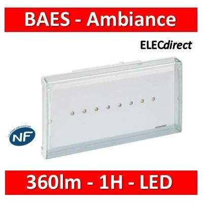 Legrand - BAES Ambiance Sati 360 lm 1H Leds - 062565