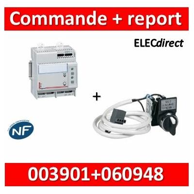 Legrand - Télécommande Lexic maxi 300 blocs + report à distance - 003901+060948