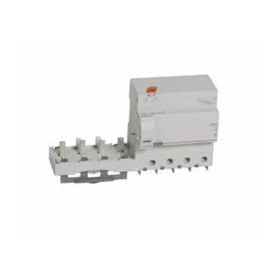 Legrand - Bloc diff adapt DX³ - à vis - 4P - 400 V~ - 125 A - type AC - 300 mA - 410628