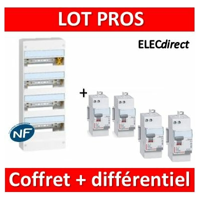Legrand - LOT PROS - 401214+411650x3+411651