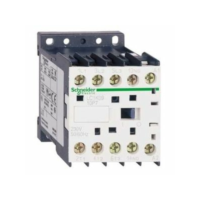 Schneider - contacteur TeSys LC1K 3P AC3 440V 6 A bobine 230 VCA - LC1K0610P7
