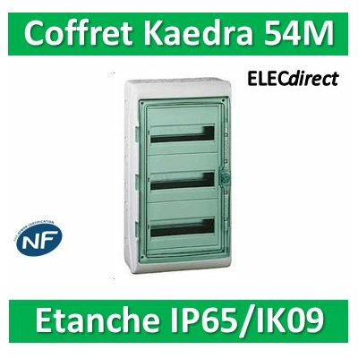 Schneider Kaedra - coffret Etanche - 448 x 610 mm - 54 modules -13967
