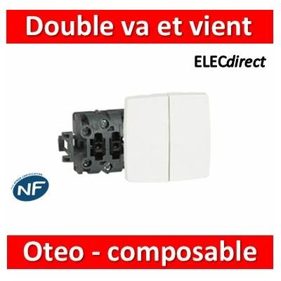 Legrand Oteo - Double Va-et-Vient composable 10A - 230V - 086120