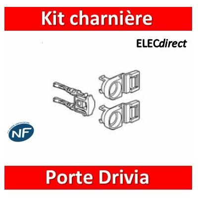 Legrand - Kit charnières pour portes Drivia - 980374