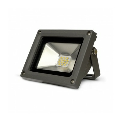 Vision EL - Projecteur LED 10W Gris 6000K - IP65 - 80011
