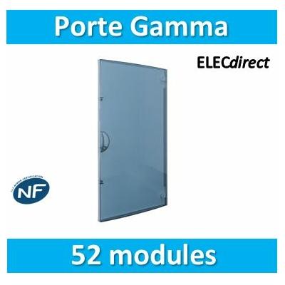 Hager - Porte transparente Gamma 13 pour GD413A - GP413T