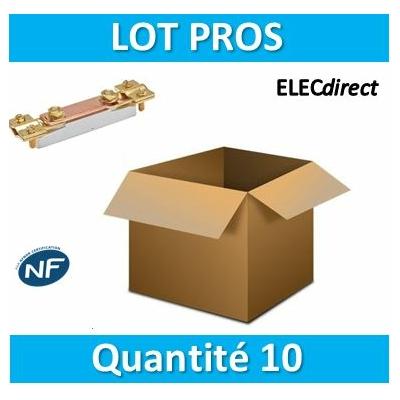 SIB - LOT PROS - Barrette de coupure de terre plastique - 04389x10