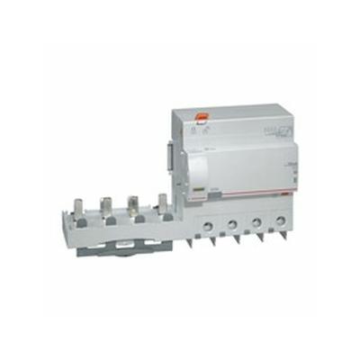 Legrand - Bloc diff adapt DX³ - à vis - 4P - 400 V~ - 125 A - type AC - 30 mA - 410624