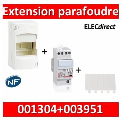 Legrand - Extension Parafoudre bipolaire 220V + coffret 4M Legrand - 003951+001304+001660