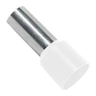 Embout de câblage Blanc 16mm2 x10