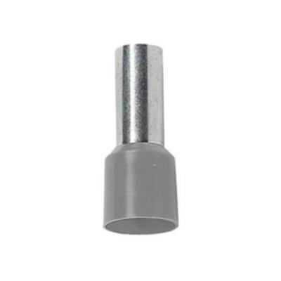 Embout de câblage Gris 2.5mm2 x100 - 41052