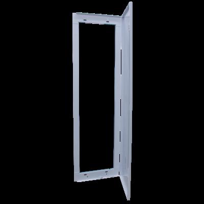 SIB - Porte métallique pour Bac P06462 - 2 rangées - épaisseur 13mm - P06112