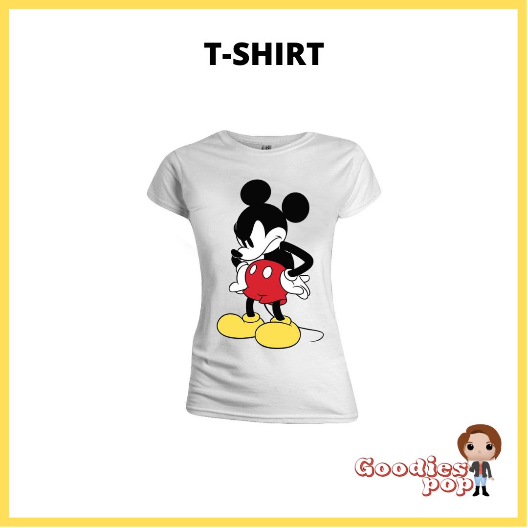 T-shirt-femme-mad-face-mickey-goodiespop