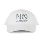 casquette blanche logo