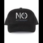 Casquette noire logo NO autrement