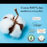Coton 100%bio NO autrement