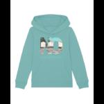 hoodies beach vert deau, les 3 cabines