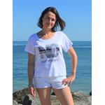 T shirt Loose Blanc XS porté par Céline(3)