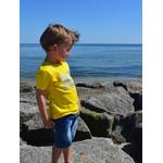 Mini T shirt ART Loptimiste 3-4 ans porté par Enzo 3