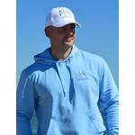 Hoodie signature 280 sky blue XL porté par  Benoit (2)