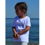 Mini T shirt intemporel blanc 3-4 ans Alice