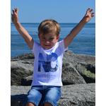 Mini T shirt ART Le conquérant 3-4 ans porté par Enzo