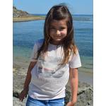 Mini T shirt ART La douceur 7-8 ans porté par Giulia