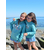 Mini Hoodie ART le Hoodie's beach 9-11 ans porté par Eyleen et 7-8 ans porté par Giulia (2)