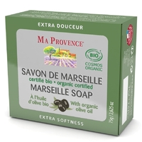 Savon de marseille bio huile d'olive 75g