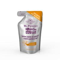 Savon Liquide de Marseille Fleur d'Oranger Eco Recharge de 250 ML