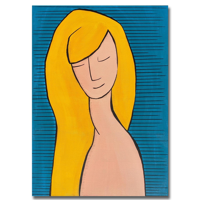 tableau-peinture-tendance-artiste_coloré_portrait_bleu-jaune_original
