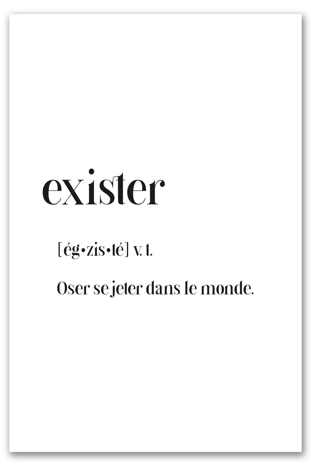exister