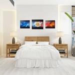 tableau-peinture-tendance-artiste_coloré_abstrait_rouge-bleu-or_triptyque
