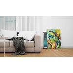 tableau-peinture-tendance-artiste_coloré_moderne_formes_bleu-rouge-vert-jaune