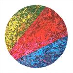 tableau-peinture-tendance-artiste_coloré_moderne_abstrait_triangles_rouge-jaune-bleu-noir