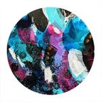tableau-peinture-tendance-artiste_coloré_noir-bleu-violet_moderne_mouvement