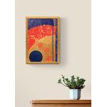 Poster-Decoration-Art-Mural_Gold_Abstrait_Cercle-rondgéométrique_40x60cm