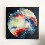 tableau-peinture-tendance-artiste_coloré_textures_rond-carré