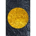 Poster-Decoration-Art-Mural_Contemporain_Minimaliste_Forme_Or_Gold_Cercles2_40x60cm