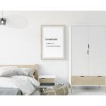Poster-Decoration-Art-Mural_Message_insomnie_définition-dictionnaire_cadre