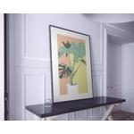 Poster-Decoration-Art-Mural_Dessin_Illustration_PlanteVerte2_cadre