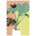 Poster-Decoration-Art-Mural_Dessin_Illustration_PlanteVerte2_40x60cm