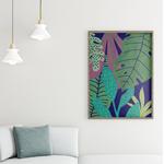 Poster-Decoration-Art-Mural_MotifsTendanceTropical_Jungle_cadre