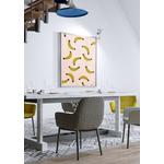 Poster-Decoration-Art-Mural_MotifsTendanceBananes_Bananas_cadre2