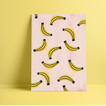 Poster-Decoration-Art-Mural_MotifsTendanceBananes_Bananas_cadre