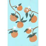 Poster-Decoration-Art-Mural_Nature_Bleu_Orangeraie_40x60