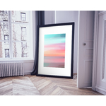 Poster-Decoration-Art-Mural_Couleurs_CoucherDeSoleil_cadre