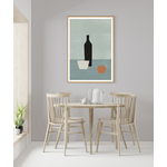 Poster-Decoration-Art-Mural_Contemporain_Minimaliste_formesetcouleurs_cuisine_SurLaTable_cadre