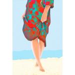 Poster-Decoration-Art-Mural_SurLaPlage_40x60cm