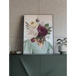 Poster-Decoration-Art-Mural_FemmeAuBouquetDeFleurs1_40x60cm_cadre